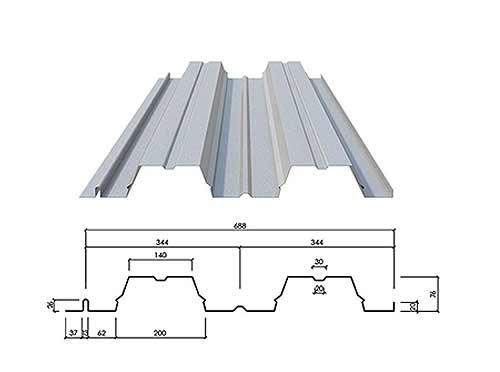 组合型楼承板